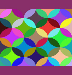 Background of different shapes vector