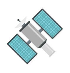 Satelite icon flat style vector