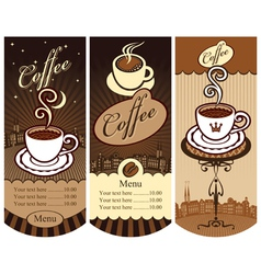Local cafes vector
