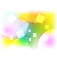 Abstract background multi shape color concept vector