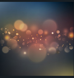 abstract sky bokeh background eps 10 vector image vector image