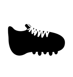 cleat or football boot icon image vector image