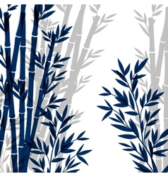 Isolated bamboo vector