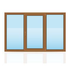 plastic window 07 vector image vector image