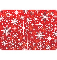 Christmas red vector