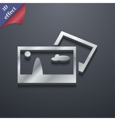 File jpg icon symbol 3d style trendy modern design vector