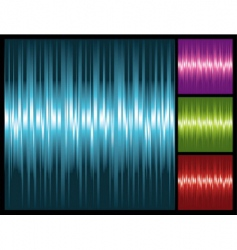 abstract lights background with stripes vector image vector image