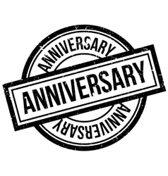 Anniversary rubber stamp vector image