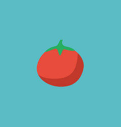flat icon tomato element of vector image vector image