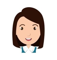 School student cartoon graphic design vector image