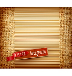 background texture burlap vector image