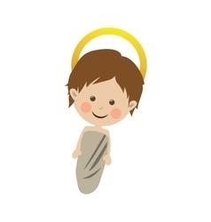 Young jesus icon image vector