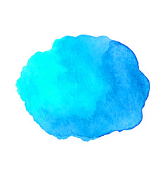 abstract watercolor blue hand drawn texture vector image