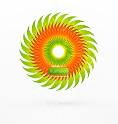 Abstract ornamental design vector