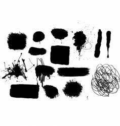 grunge mark vector image