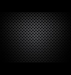 Abstract black rectangles metallic background vector