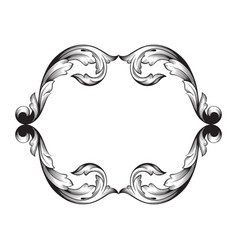 classical baroque vector image vector image