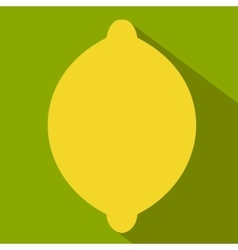 Lemon flat icon vector