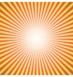 Star burst orange vector