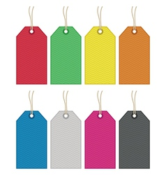 Gift tags vector