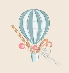 Sweets balloon vector
