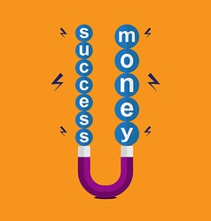 Success money concept vector
