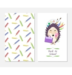 Stylish inspiration card in cute style with vector image