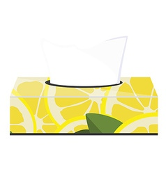 Tissue box vector image
