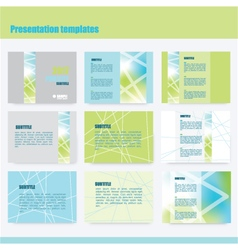 214 5 2016 presentation template vector
