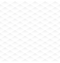 Abstract rhombus seamless white texture vector