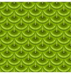 Seamless green river fish scales vector