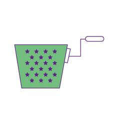 Joke box icon vector