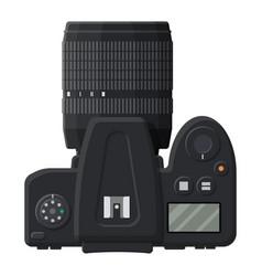 modern photo camera vector image