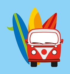 Summer vacations vector