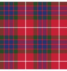 Fraser tartan fabric texture seamless pattern vector