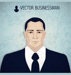 angry businessmand avatar businessman icon vector image vector image