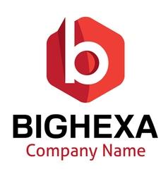 Big hexa logo vector
