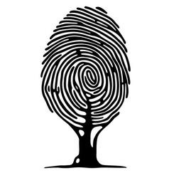 Finger print tree vector
