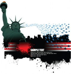 Independence day poster vector