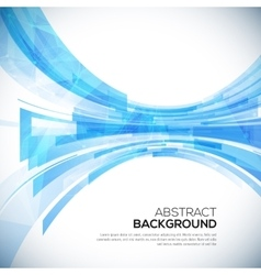 Business abstract blue background vector