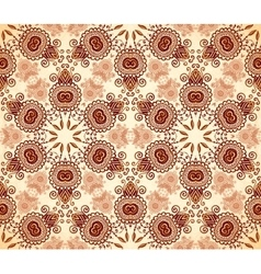 Vintage colors abstract stars seamless pattern vector image