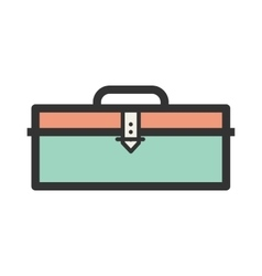Stationery box vector