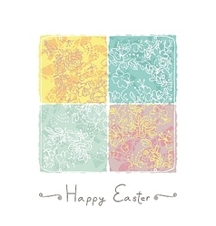 Easter Card Background vector image vector image