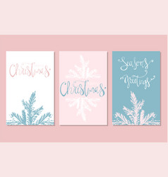 Set christmas vector