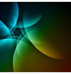 smooth twist lines background vector image vector image