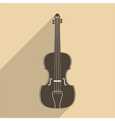 Violin icon vector