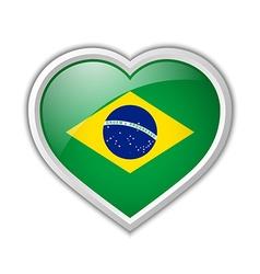 Brazilian icon vector image