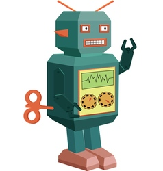 Robot toy vector