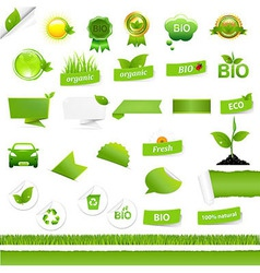 Bio Signs Set vector image