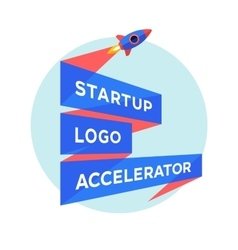 Concept design for startup project with vector